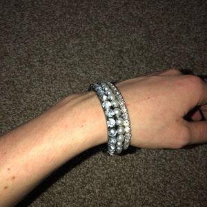 Set of 3 classic shimmer bracelets